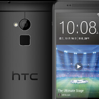 Black HTC One max pictured in Hong Kong