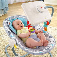 Petition tries to get Fisher Price to stop selling baby seat with Apple iPad stand