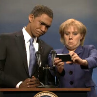 'Selfiegate' subject of parody on SNL