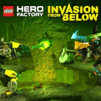 Lego Hero Factory: Invasion From Below invades all platforms next January