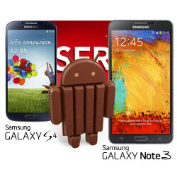Galaxy S4 and Note 3 to get the Android 4.4 KitKat update late January