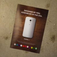 Moto Maker Gets An Interactive Print Ad In Wired Magazine