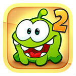 "Cut the Rope 2 is now available on iOS, coming to Android in ""early 2014"""