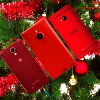 The best red smartphones - for Christmas 2013 and not only