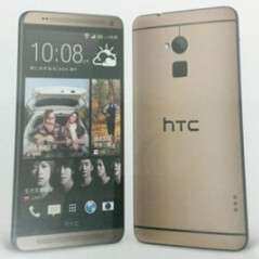 HTC One max in gold available in Taiwan