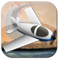 Stunt Pilot is a free stunt-plane game for BB10 devices