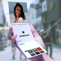 Samsung Display concepts and videos show a future where flexible, foldable, transparent displays are everywhere