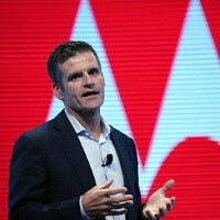Motorola CEO Woodside talks Google