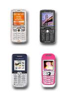 Sony Ericsson announces four new GSM phones