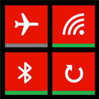 Status Tiles for WP8 brings quick connectivity settings to your home screen