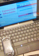 Verizon's HP Mini 1151 NR Netbook – live photos and impressions