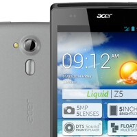 New Acer Liquid Z5 announced as an affordable 5-inch Android smartphone