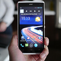 Acer Liquid Z5 hands-on