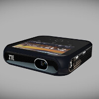 ZTE unveils an Android-powered 1080p hybrid projector at CES 2014
