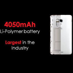 Huawei unveils Ascend Mate 2 with 4050 mAh battery that