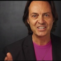 T-Mobile CEO John Legere goes to AT&T's party, gets kicked out