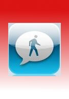 Email'n'Walk app for iPhone provides window like view