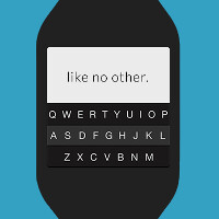 Type on your Samsung Galaxy Gear smartwatch using a QWERTY keyboard