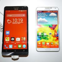 Asus ZenFone 6 vs Samsung Galaxy Note 3: first look