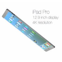 12.9-inch iPad Pro concept render looks unreal