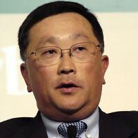 BlackBerry removes interim  from CEO John Chen's title