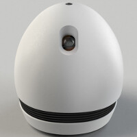 Android robot projector follows you around the house
