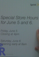 Sprint allowing few to buy the Pre a day earlier; Best Buy stores getting only 4 units each?