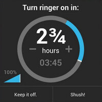 App spotlight: Shush! puts a timer on your phone's muted ringer