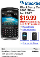 New Circuit City offers BlackBerry Curve 8900 for $19.99