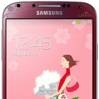 Red Samsung Galaxy S4 La Fleur unveiled, a white version may come in March