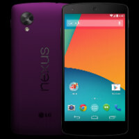 Don't get too excited, the Nexus 5 colors are fake
