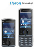 The Motorola Heron and Sawgrass are QWERTY sliders