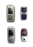 Siemens introduces four more models of the 75 mobile phone generation