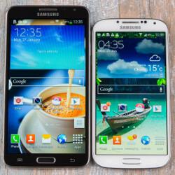 Samsung Galaxy Note 3 Neo vs Galaxy S4: first look