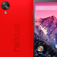 Press image of red Nexus 5 leaks