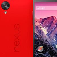 Press image of red Nexus 5 leaks