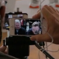 Behind the scenes of the Apple 1.24.14 video shot with 100 iPhones