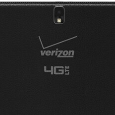 Verizon's Samsung Galaxy NotePRO 12.2 pictured, huge carrier logo included