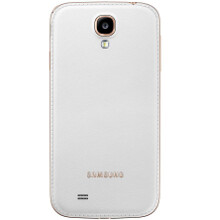 Samsung revises the Galaxy S4 design with more faux-leather back versions, including Rose Gold white