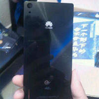 Authentic-looking rear shell of the upcoming Huawei P7 'Sophia' unearthed