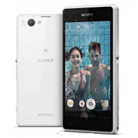 Does the Sony Xperia Z1 Compact have a plastic back instead of a glass one?
