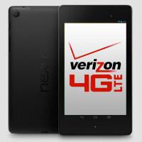 Nexus 7 updated to support Verizon LTE