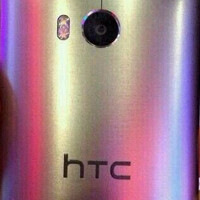 Latest leaked HTC M8 photo reveals shiny metallic back, more rounded curves than the HTC One