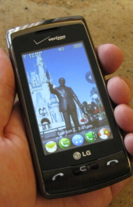 Hands-on Preview of the LG enV Touch and enV3
