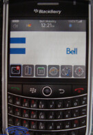 BlackBerry Tour Canadian bound for Bell?
