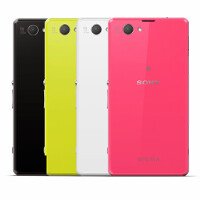The Sony Xperia Z1 Compact has a plastic back, the manufacturer states