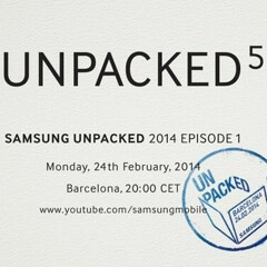 Samsung to have the biggest booth at MWC 2014 - plenty of space to show off the Galaxy S5