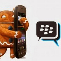 BBM for Gingerbread powered Android users is now available
