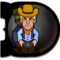The Domingos is a physics-based puzzle game with cowboys and dominos