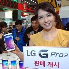 LG G Pro 2 launched in Korea, costs more than Samsung's Galaxy Note 3
